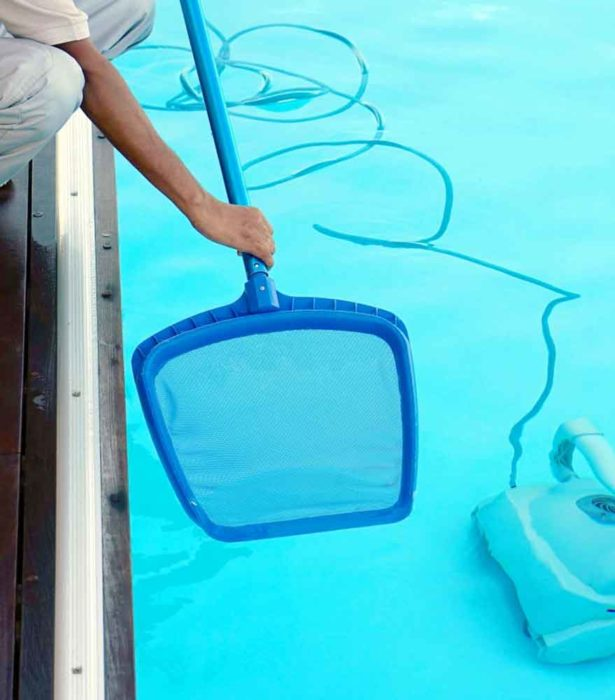Getting your swimming pool ready to swim